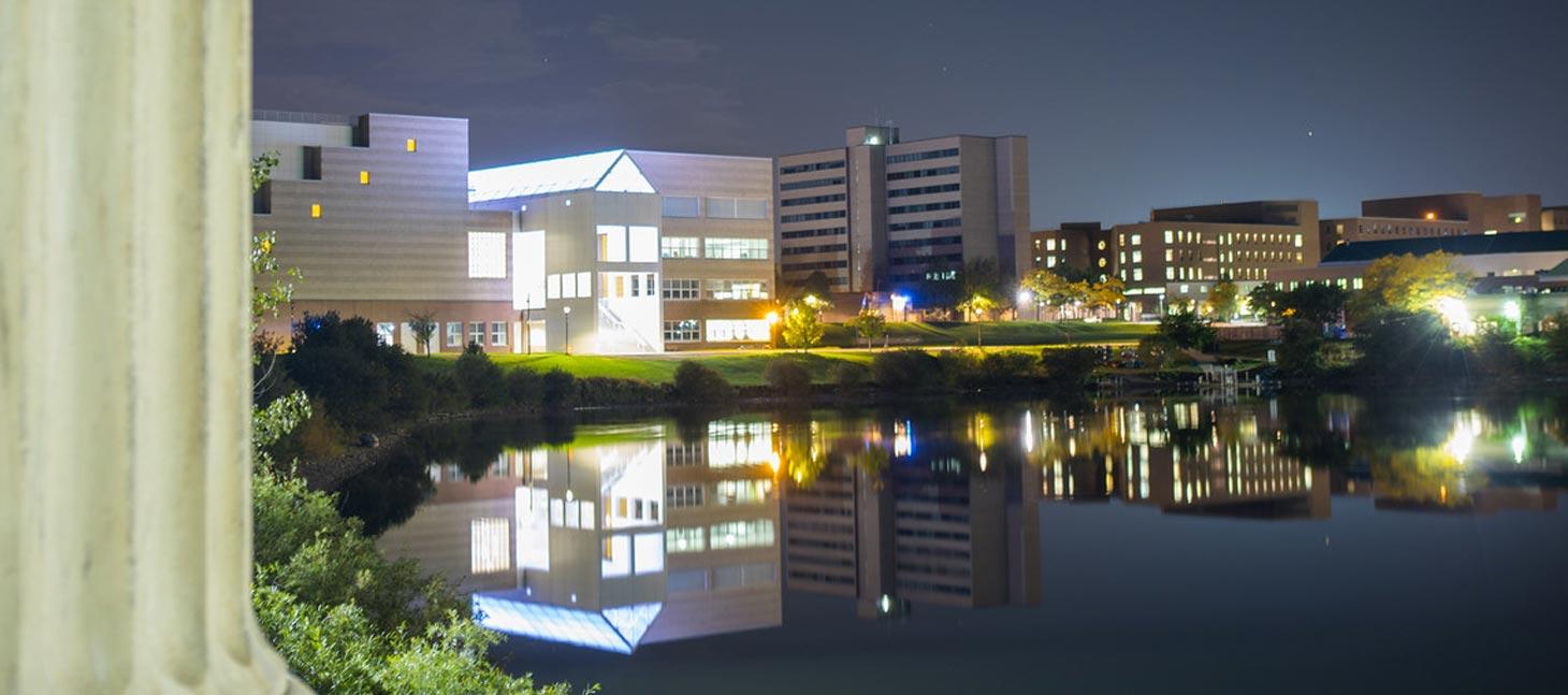 UB at night