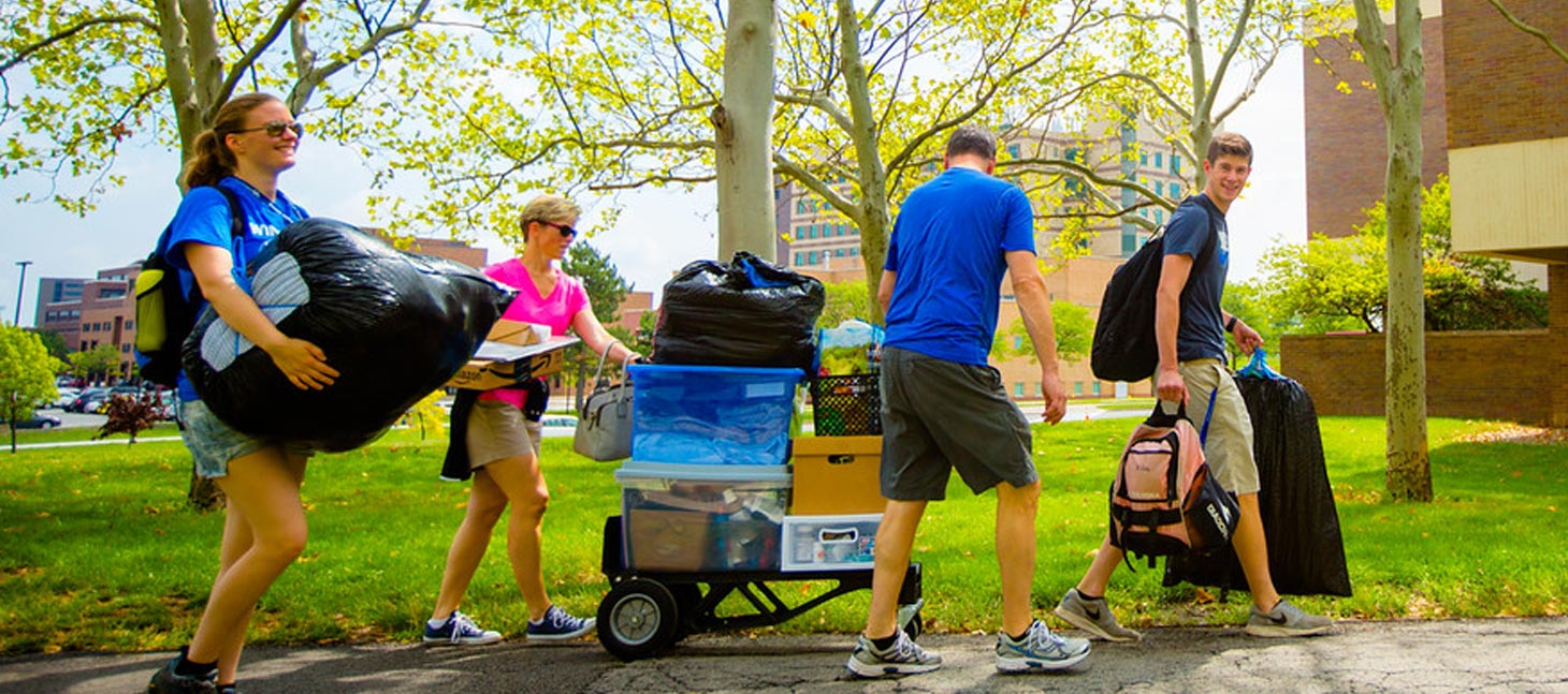 Student moving into UB