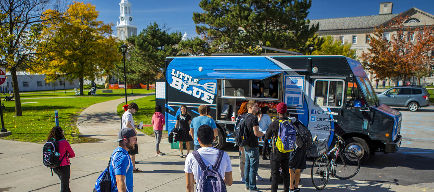 Little Blue is a UB food truck